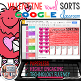 Valentines Day Vowel Sort