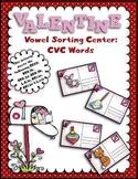 Valentine's Day Vowel Sort