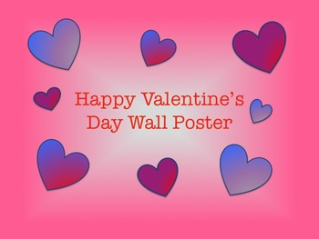 Valentine's Day Wall Poster