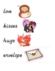 Valentine's Day Word & Picture Vocab Cards