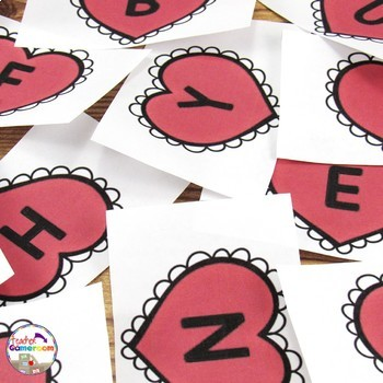 Valentine's Day Word Play Activity