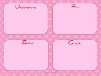 Valentines Day Word Problem Task Cards Pack