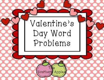 Valentine's Day Word Problems