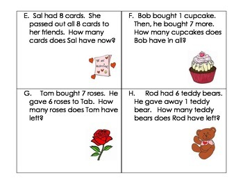 Day Word Problems- Kindergarten (Addition and Subtraction Within 10)