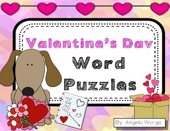 Valentine's Day Word Puzzles