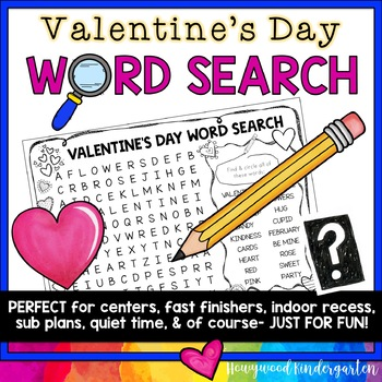 Valentines Day Word Search Puzzle