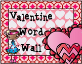 Valentine's Day Word Wall