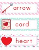 Valentines Day Word Wall-FREE!