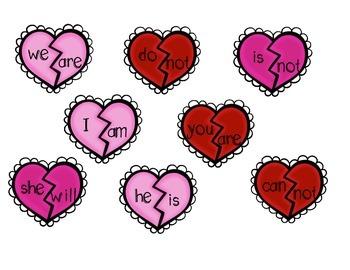 Valentine's Day Word Work Pack
