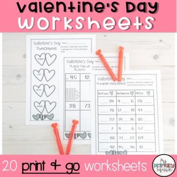 Valentine's Day Work Pack
