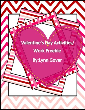Valentine S Day Work Pack Morning Work By Lynn Gover Tpt