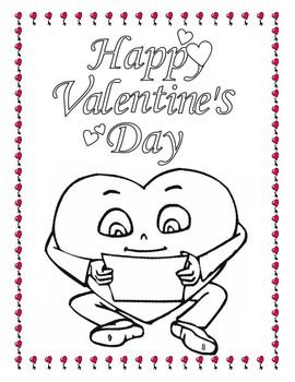 Valentines Day Workbook
