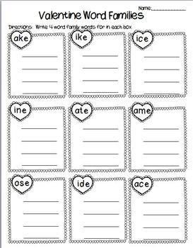 Valentine's Day Worksheet Bundle
