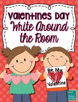 Valentines Day Write Around the Room