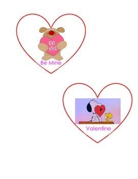 Valentine's Day Write Around the Room