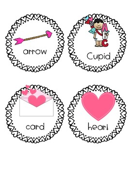 Valentines Day Write and Count the Room #Love20