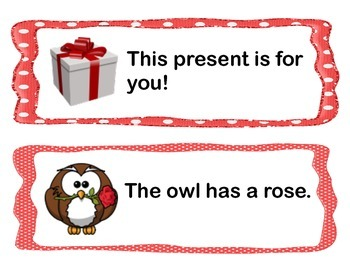 Valentine's Day Write the Room Activity (Sight Word Sentences)