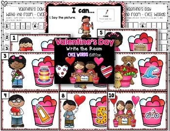 Valentine's Day Write the Room - CVCE Edition