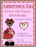 Valentine's Day Write the Room-Sentences