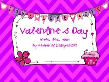 Valentine's Day Write-the-room