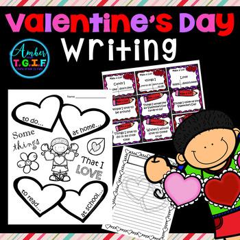 Valentine's Day Writing