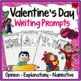 Valentine's Day Writing Prompts {Narrative, Informative &