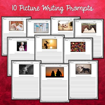 Valentine's Day Activities (Valentine's Day Writing Prompts and Paper)