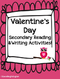 Valentine's Day Writing Activities with Articles