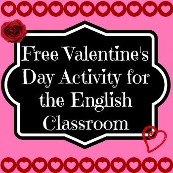 Freebie: Valentine's Day Writing Activity Plus Prezi