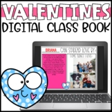 Valentines Day Writing Activity and Digital Class Book