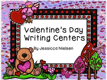 Valentine's Day Writing Centers