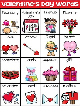 Valentines Day Writing Centers