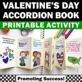 Valentines Day Crafts KINDNESS Accordion Book, Valentine Craftivity