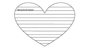 Valentines Day Writing Craft - Conversation Hearts