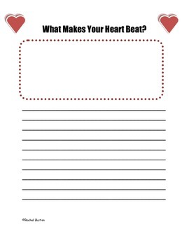 Free Valentine's Day Writing Craftivity