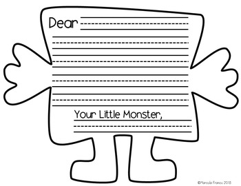 Valentine's Day Craftivity - Love Monsters (English and Spanish)