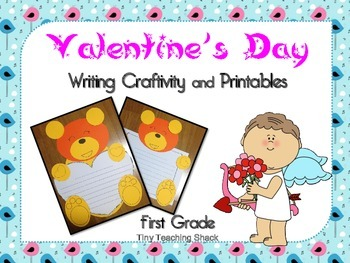 Valentine's Day Writing Craftivity and Printables