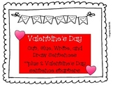 Valentine's Day Writing - Cut, Glue, Write and Draw