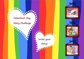 Valentine's Day - Writing Love stories!