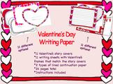 Valentine's Day Writing Paper