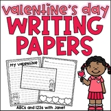 Valentine's Day Writing Paper Pack