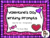 Valentine's Day Writing Prompts (1st-3rd)