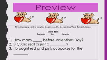 Valentines Day Writing Prompts