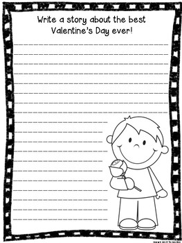 Valentine's Day Writing Prompts (3rd-5th)