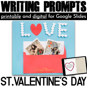 Valentines Day Writing Prompts {48 cards}
