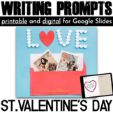 Valentines Day Activities Writing Prompts