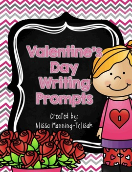 Valentine's Day Writing Prompts {Common Core Aligned}
