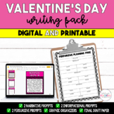 Valentine's Day Writing Prompts - Narrative, Expository, Persuasive