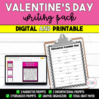 Valentine S Day Writing Prompts Narrative Expository