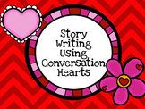 Valentine's Day Writing With Conversation Hearts